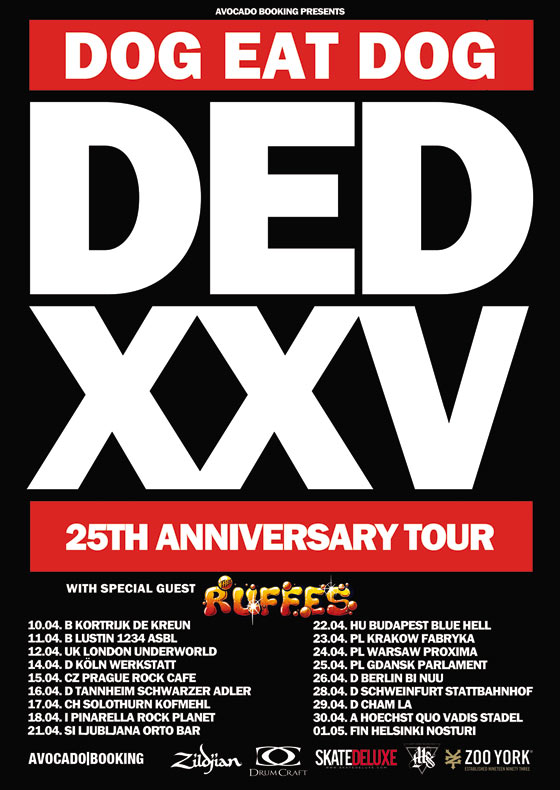 2015 25TH Anniversary Tour
